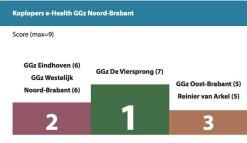 Viersprong koploper ehealth ggz in Noord-Brabant