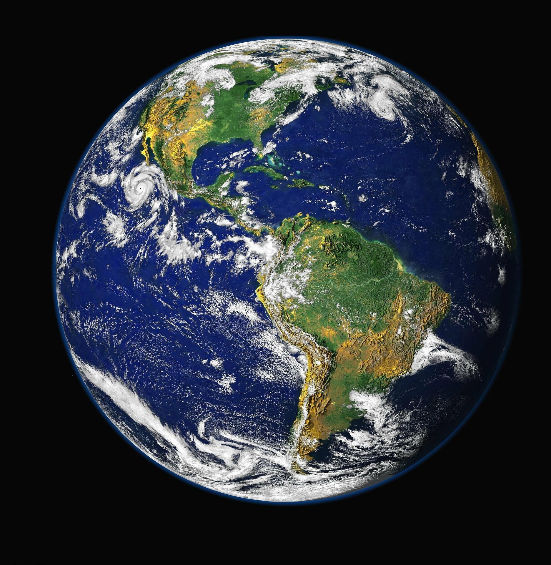 Internationale samenwerking binnen de GGz gesymboliseerd door de planeet aarde